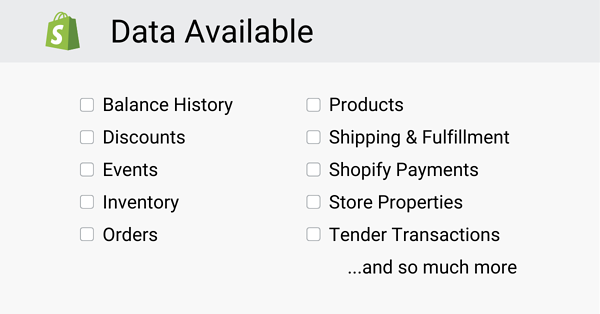 Shopify DS Resources