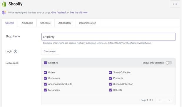 Shopify API Resources