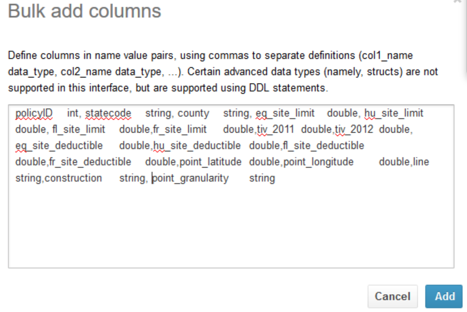 Create a table - Athena.png